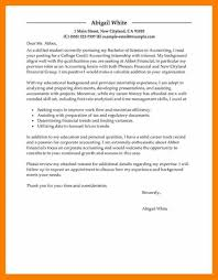 cover letter examples for accounting 4 intern cover letter example science resume