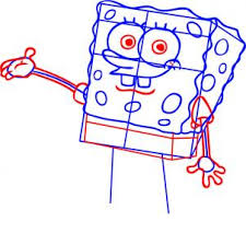 how to draw how to draw spongebob squarepants hellokids com