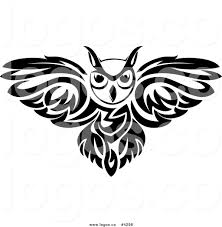 clipart owl black and white royalty free owl logo by vector tradition sm 4298
