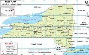 latitude map buy new york latitude longitude map