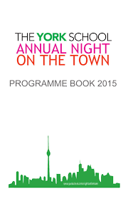 lexus toyota leslie eglinton the night on the town programme 2015 by the york issuu