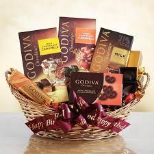 chocolate baskets godiva birthday chocolate surprises gift basket birthday baskets