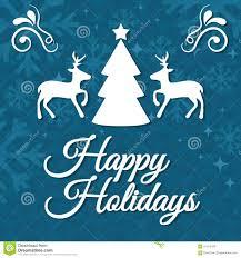 happy holidays christmas card christmas lights decoration