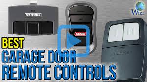 Overhead Garage Door Remote Programming by Top 6 Garage Door Remote Controls Of 2017 Video Review