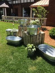 Wedding Ideas For Backyard 40 Rustic Country Buckets Tubs Wedding Ideas Tubs Buckets And