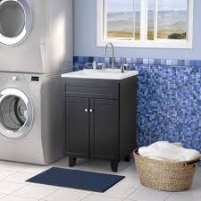 shocking designs with bathroom countertop storage cabinets captivating design ideas using blue glass tile backsplash and rectangular navy rugs also with black
