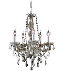 Elegant Lighting Chandelier Elegant Lighting 7855d21gt Gt Rc Verona 5 Light 21 Inch Golden