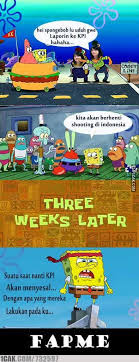 Meme Spongebob Indonesia - trending meme selamatkan spongebob bersama savespongebob