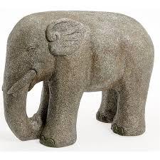 global elephant garden ornament at homebase co uk