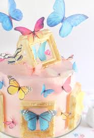 butterfly cake butterfly gallery cake sprinkle bakes
