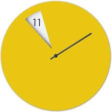 Home Decor Clocks Best 25 Yellow Wall Clocks Ideas On Pinterest Scandinavian Wall