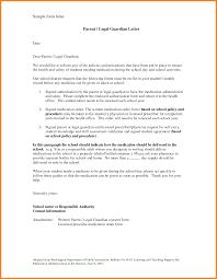 Cover Letter Legal 7 Legal Guardian Letter Sample Ledger Paper