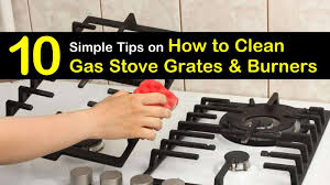 how to remove grease from the top of kitchen cabinets 10 simple ways to clean gas stove grates