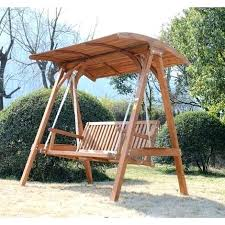 Patio Furniture Plano Wooden Garden Swing Seats Outdoor Furniture 3 Larch Wood Wooden