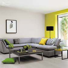 combine statement shades of yellow with delicate neutrals for a