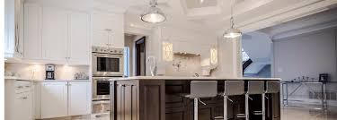 classic style kitchen with island ateliers jacob calgary