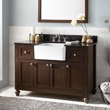 bathrooms design farmhouse sink vanity antique coffee style