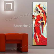 Aliexpress Home Decor Aliexpress Com Buy Handmade Oil Painting Large Canvas