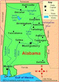 map usa alabama alabama counties road map usa