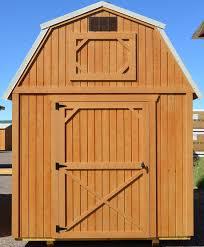 Overhead Shed Door wk lofted barn 8 foot wide jpg