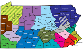 Bucks County Map Find A Cil By County Pennsylvania Statewide Independent Living