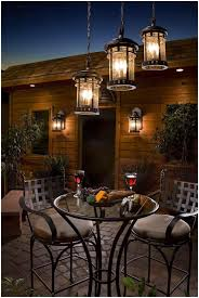 Patio String Lighting by Backyards Excellent Rustic Pendant Lamps And Twin Wall Sconces