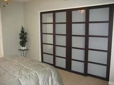 closet doors frosted glass contemporary african wenge interior double door with frosted glass