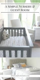 Simple Nursery Decor A Simple Nursery Guest Room Guest Room Nursery Decor Room And