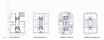 high rise floor plans mixed use high rise ashley purvis archinect