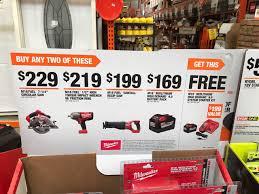 home depot black friday 2017 garage journal 2017 milwaukee power tools deal thread the garage journal board