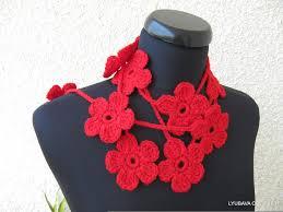 Crochet Designs Flowers 98 Best Crochet Patterns Scarves Images On Pinterest Crochet
