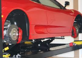 Backyard Buddy Lift Reviews 4 Post Bridge Jacks Car Lift Accessories Lift A Car With Bendpak