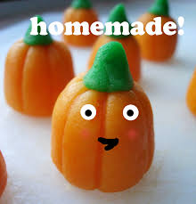 how to make halloween candy mellowcreme pumpkins