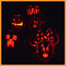 halloween pumpkins disney meets minecraft cathy herard