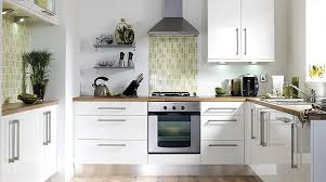 BQ Gloss White Slab Kitchen Cabinet Doors  Fronts Kitchens - White gloss kitchen cabinets