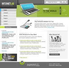 internet cafe flash template 9596