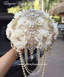 theme wedding bouquets best 25 bling bouquet ideas on vintage wedding