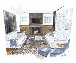 Interior Sketch by 45 Best Manual Rendering Techniques Images On Pinterest Sketch