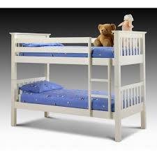 Cheap Julian Bowen Barcelona Stone White Bunk Bed For Sale With Or - White bunk bed with mattress