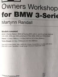 bmw e90 e91 haynes manual in whiteley hampshire gumtree