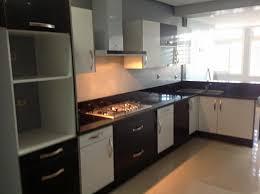 mdf cuisine cuisine en mdf blanc et noir modèle de cuisine cuisine anfa