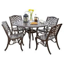 Aluminum Patio Chairs Clearance Patio Aluminum Patio Dining Set Pythonet Home Furniture