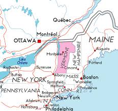 usa map vt map of vermont in the usa