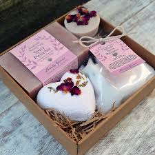 Bath Gift Sets Rose Geranium U0026 Lavender Natural Bath Set Lovely Greens Handmade