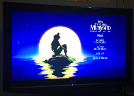 a113animation the little mermaid blu ray review under the sea