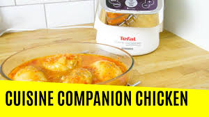 cuisine tefal basque chicken in the tefal cuisine companion