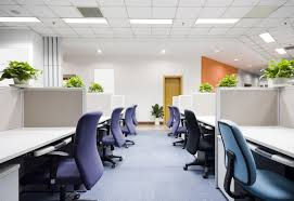 led office lighting fixtures combined with track lighting spaces