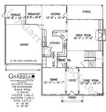 Colonial Style Floor Plans by Woodward House Plan House Plans By Garrell Associates Inc