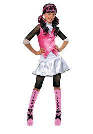 draculaura monster high costume for girls kids fancy dress