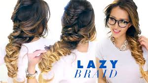 what type of hairstyles are they wearing in trinidad lazy girl s french fishtail braid hairstyle cute school